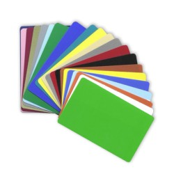 Tarjetas De PVC a Color CR8030COLOR Paquete de 1000