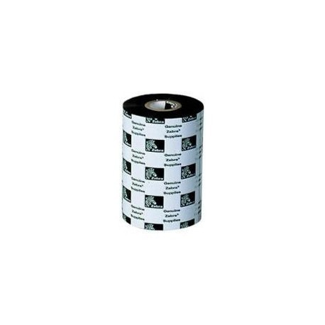 "Zebra Ribbon de Cera/Resina 4.33"" (110mm)"