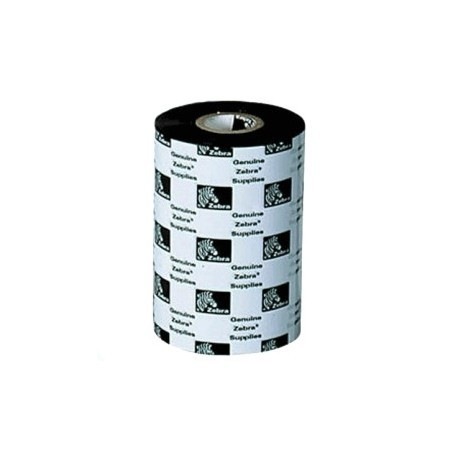 "Zebra Ribbon de Cera 4.33"" (110mm)"