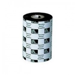 "Zebra Ribbon de Cera 2.50"" (64mm)"